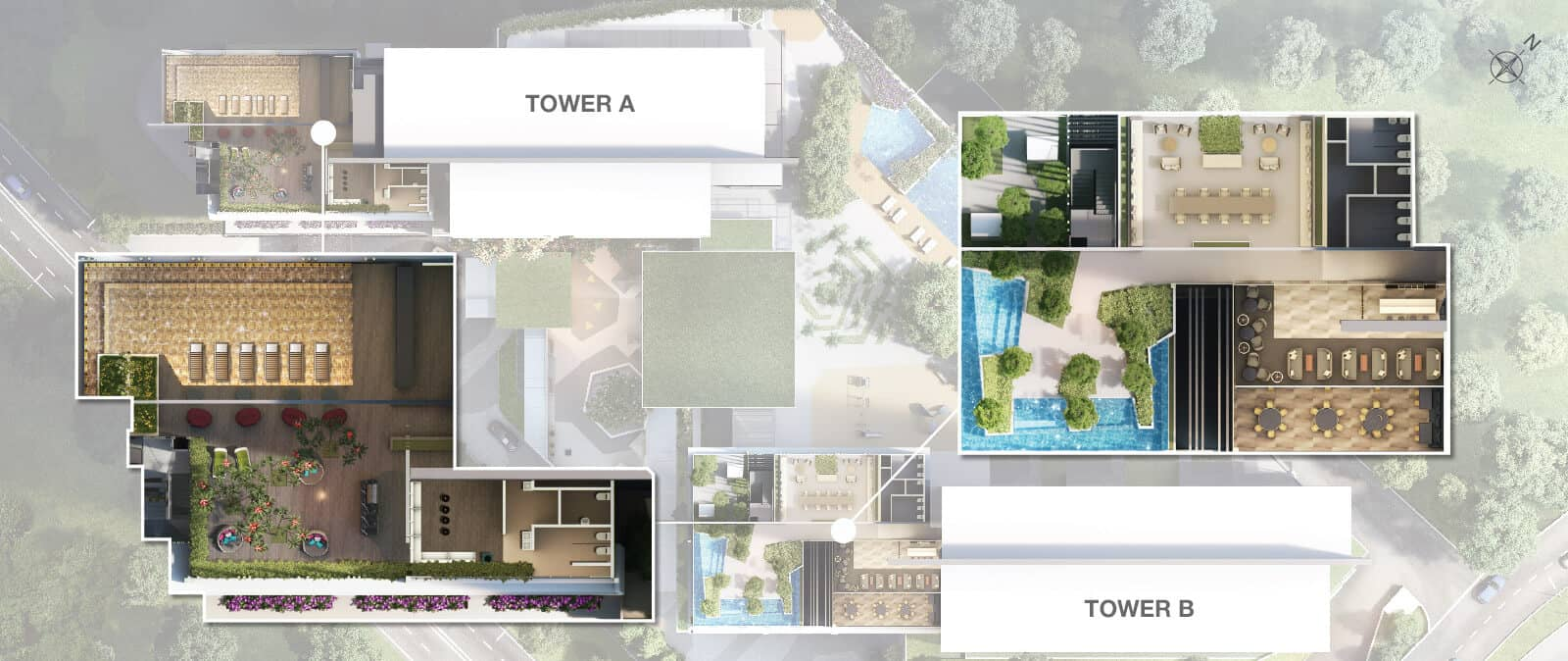 Facilities Plan of Rooftop