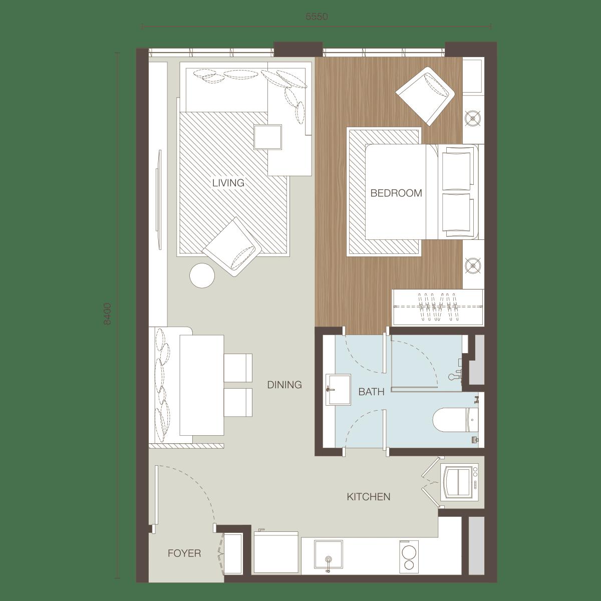 Floor Plan Type A