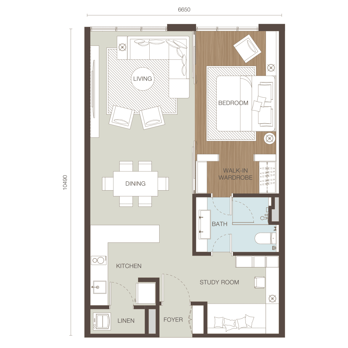 Floor Plan Type C