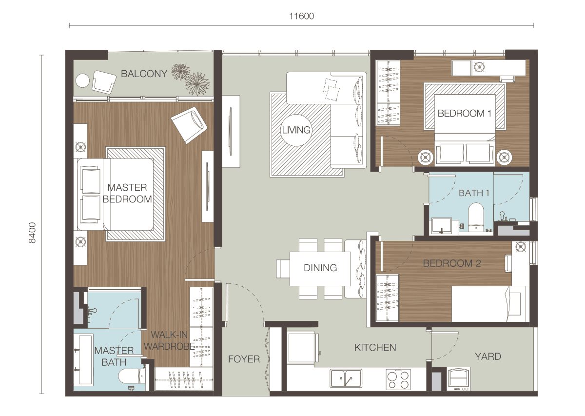 Floor Plan Type D