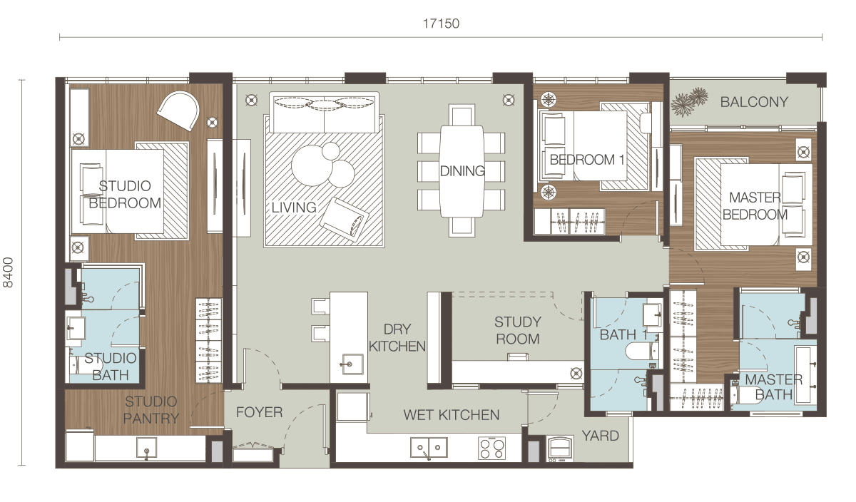 Floor Plan Type F