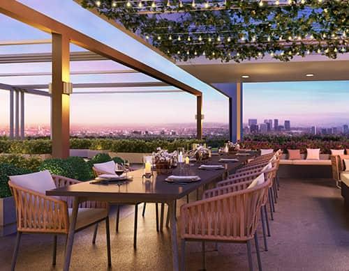 Sky Garden Dining
